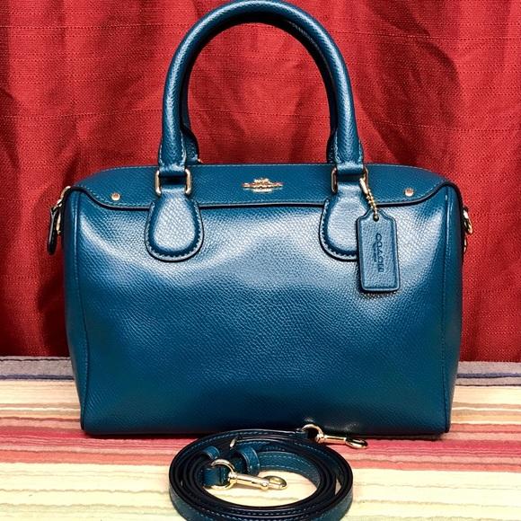 28141a3513c Coach Bags   Nwot Crossgrain Leather Mini Bennett Satchel   Poshmark